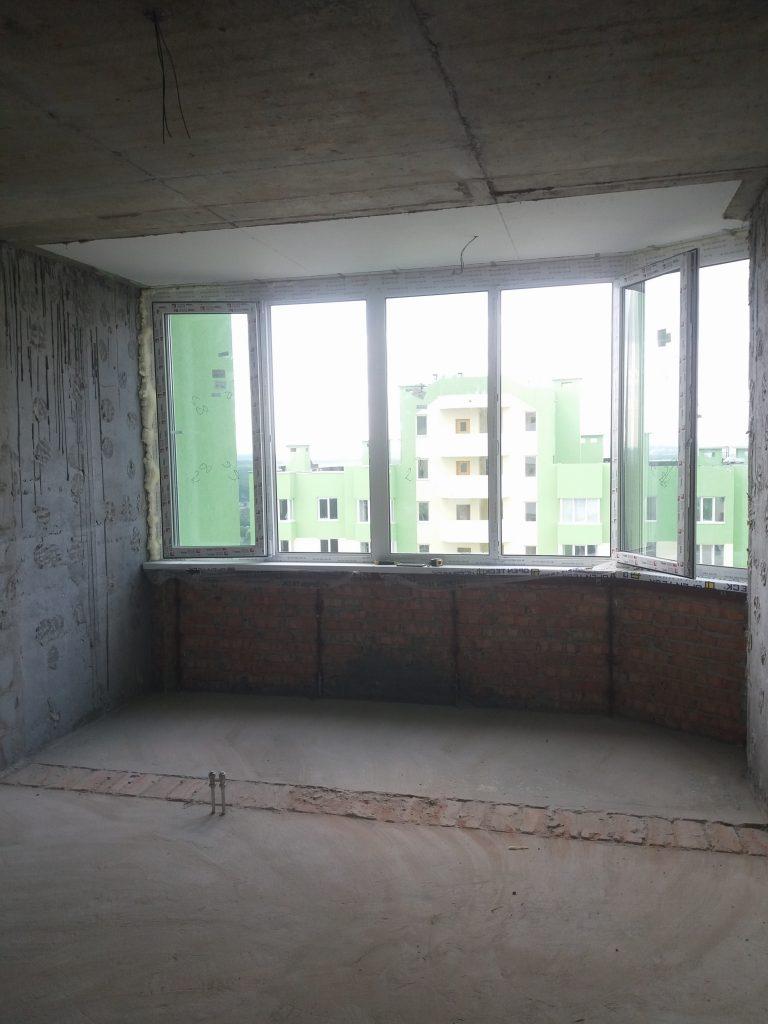 Демонтаж выхода на балкон